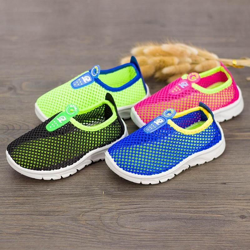 Buty letnie dziecięce Nowość Modne buty sportowe oddychające do - Obuwie dziecięce - Zdjęcie 2