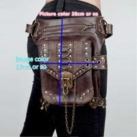 The New Steampunk Ladies Bag Retro Bag Men and Women Messenger Bag Travel Pockets Dropship
