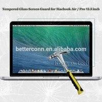 Retina 디스플레이가있는 Macbook Pro 용 프리미엄 0.4mm 강화 유리 스크린 보호기 13