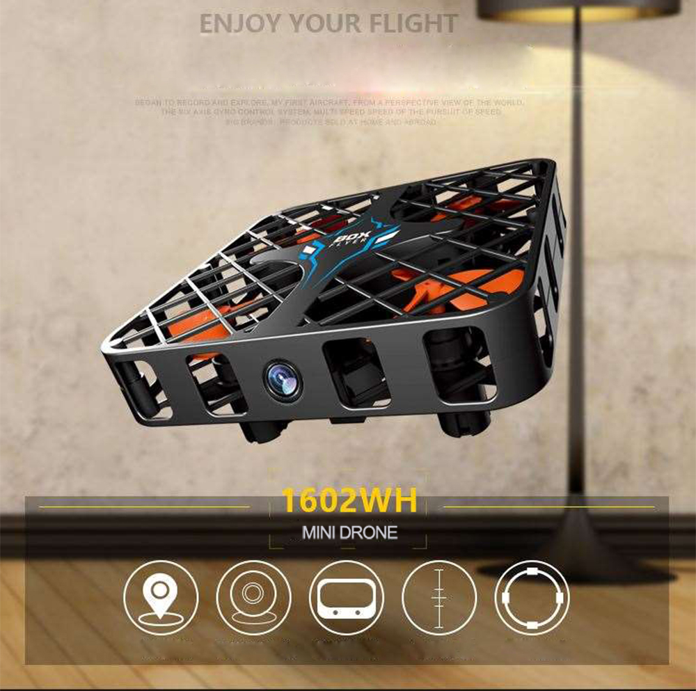 Mini Drone with camera RC Micro Pocket Quadcopter 4CH Gyro Switchable Controller Helicopter Kids Toys VS JJRC H37 H31 FQ777-124