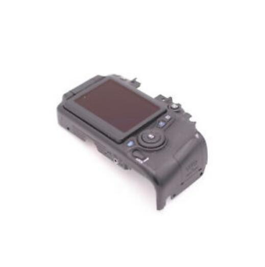 95% pour Canon pour EOS 70D coque arrière couverture arrière Assy avec écran LCD carte SD bouton de porte câble pièces de réparation