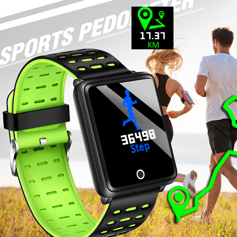 1d08ccea15cd BANGWEI 2019 New Sport Smart Watch OLED 1.44 Inch Color Screen Smartwatch  Men women Fashion Fitness Tracker Heart Rate monitor