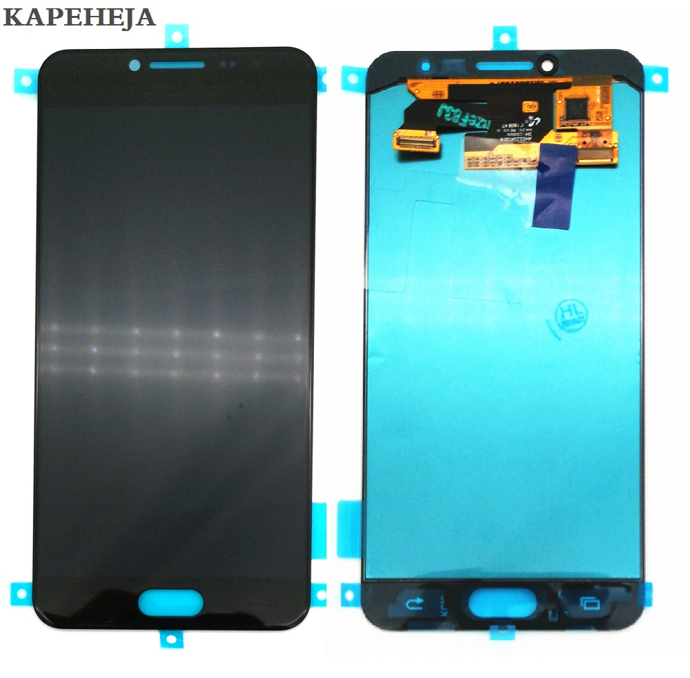 New Super AMOLED LCD For Samsung Galaxy C5 C5000 Display Touch Screen Digitizer Assembly