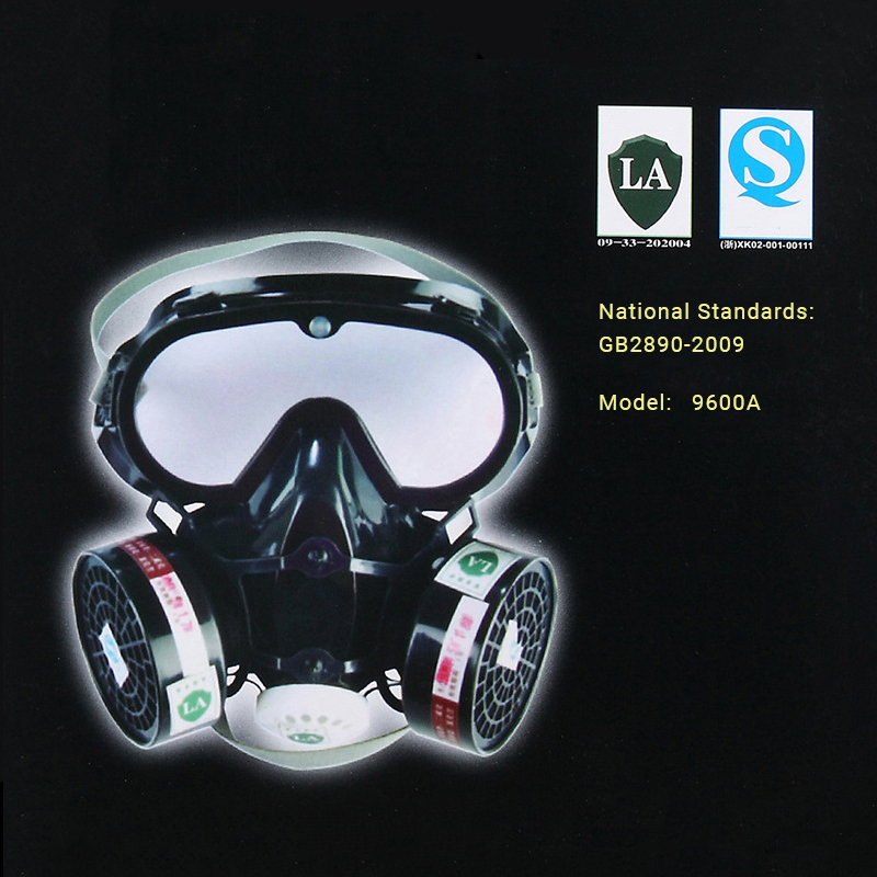Dust Gas Defense Spray Fire Escape Anti-Splash AntiPaint Protection Safety Oxygen Breathing Half Face Protection Mask Respirator