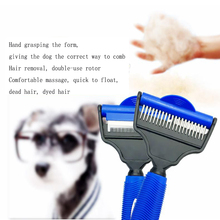 Multi-function Rotary Hair Comb Pet Dog Cat Fur Hair Removal Brush Comb Pets Grooming Tools Hair Shedding Trimmer Pet Supplies pet hair deshedding dog cat brush comb sticky hair gloves hair fur cleaning for sofa bed clothe pets dogs cats cleaning tools