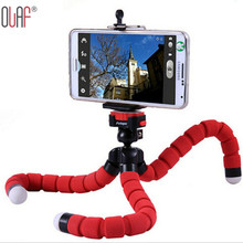 Hot Car Phone Holder Stand Mini Flexible Octopus Gorillapod Tripod For iPhone Samsung Xiaomi Camera Mobile Phone Tablet Holder