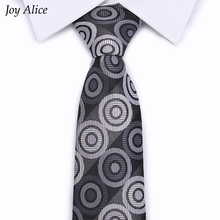 popular in 2018 Business Tie men gray dot necktie for men height quality 8 cm width wedding group ties for men