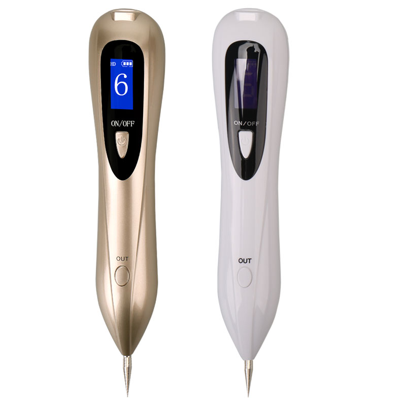 Newest Laser Plasma Pen Mole Removal Dark Spot Remover LCD Skin Care Point Pen Skin Wart Tag Tattoo Removal Tool Beauty Care lcd plasma pen mole removal dark spot remover black point pen beauty skin care tools freckle wart tag tattoo removal machine pen