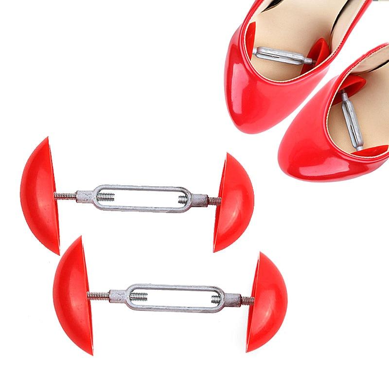 2Pcs Adjustable Width Extenders Comfy Mini Shoe Stretchers Shapers Men Women'S Shoes Expander Stretch Shoes Accessories