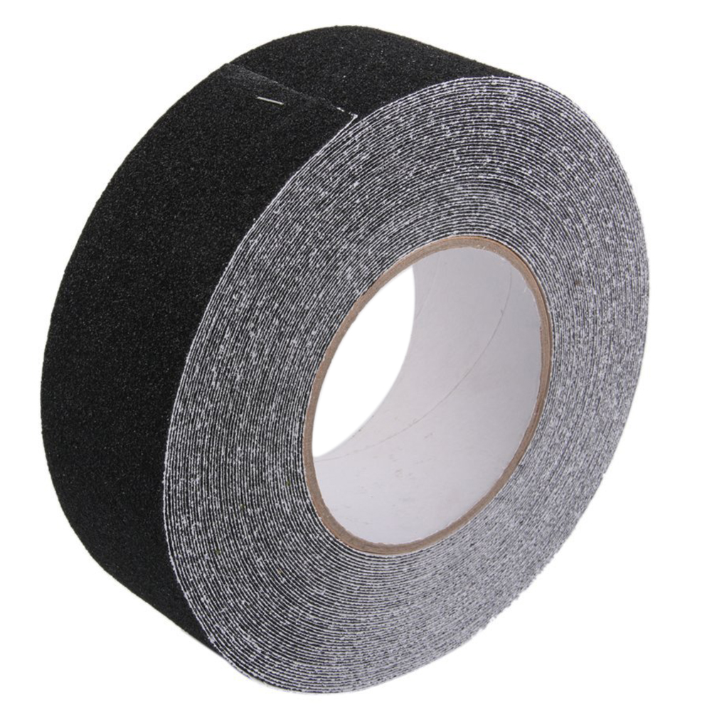 купить Roll of Anti Slip Tape Stickers for Stairs Decking Strips 5cm x 18m по цене 1107 рублей