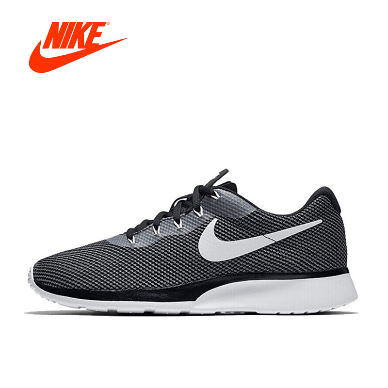 Original New Arrival NIKE TANJUN RACER Men's Breathable Running Shoes Sports Sneakers