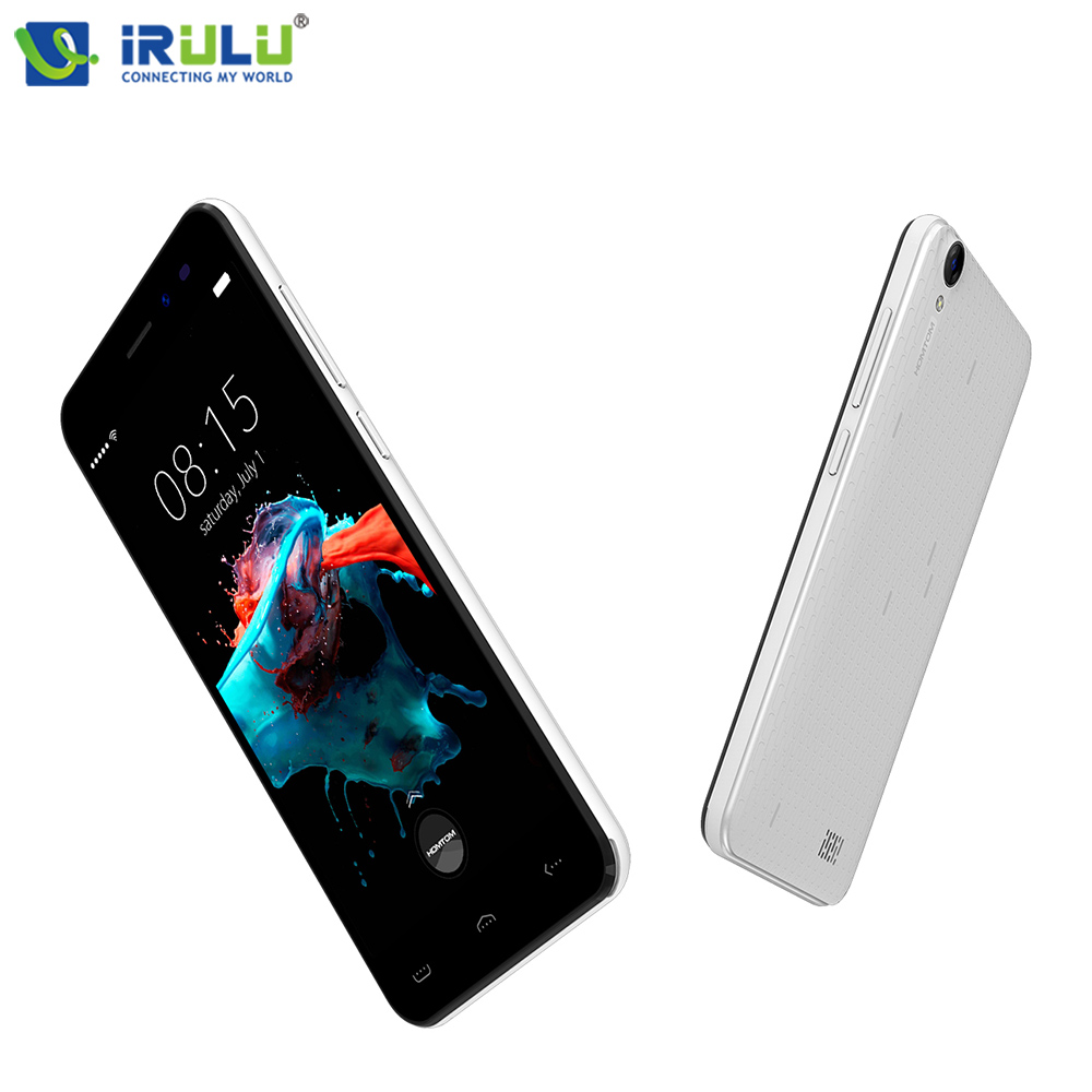 iRULU HOMTOM HT16 Smartphone 5 HD Andriod 6 0 MTK6580 Quad Core 1GB 8GB Dual Cams