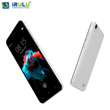 iRULU HOMTOM HT16 Smartphone 5″ HD Andriod 6.0 MTK6580 Quad Core 1GB+8GB Dual Cams Cellphone Ultra Slim Dual SIM Mobile Phone