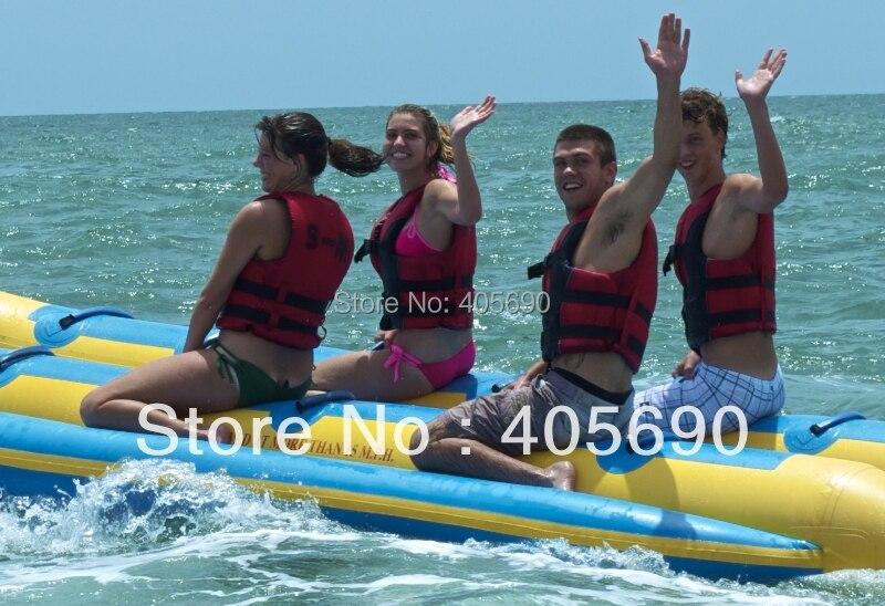 Bateau pvc double 12 places/bateau banane/bateau gonflable
