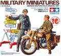 Tamiya 35241 1 / 35 военный миниатюры немецкий мотоцикл санитар комплект монтажный комплект модель комплекты Modle строительные весы