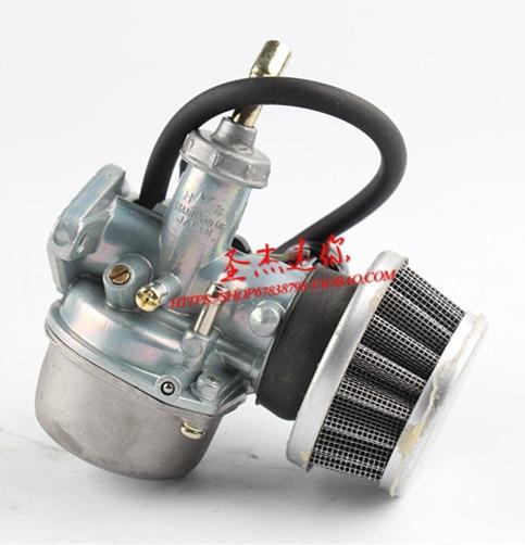 Carburador de motocicleta tienda de MOTOR PZ19 19mm, 50cc, 70cc, 90cc, 110cc, 125cc, ATV, Dirt Bike Go Kart, Choke, Taotao