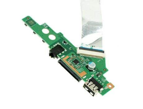 Original L e n o v o IDEAPAD FLEX3 1570 1580 USB Small Board Audio Small Board 448.03N01.0011