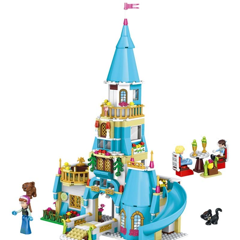 37008 Girl Friends Princess Anna and The Princess Castle Model Building Kits Blocks Bricks Set Girl Toys Compatible With Legoed steven heston l  the heston model and