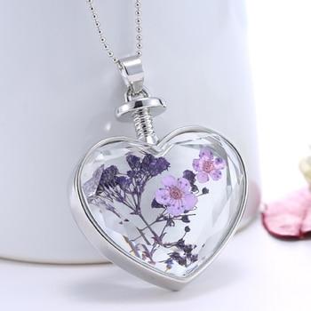 Online shop 2pcs 25mm real flower pendant necklacebotanical 2pcs real dry flower glass locket necklace3 designs availablereal pressed flower mozeypictures Images