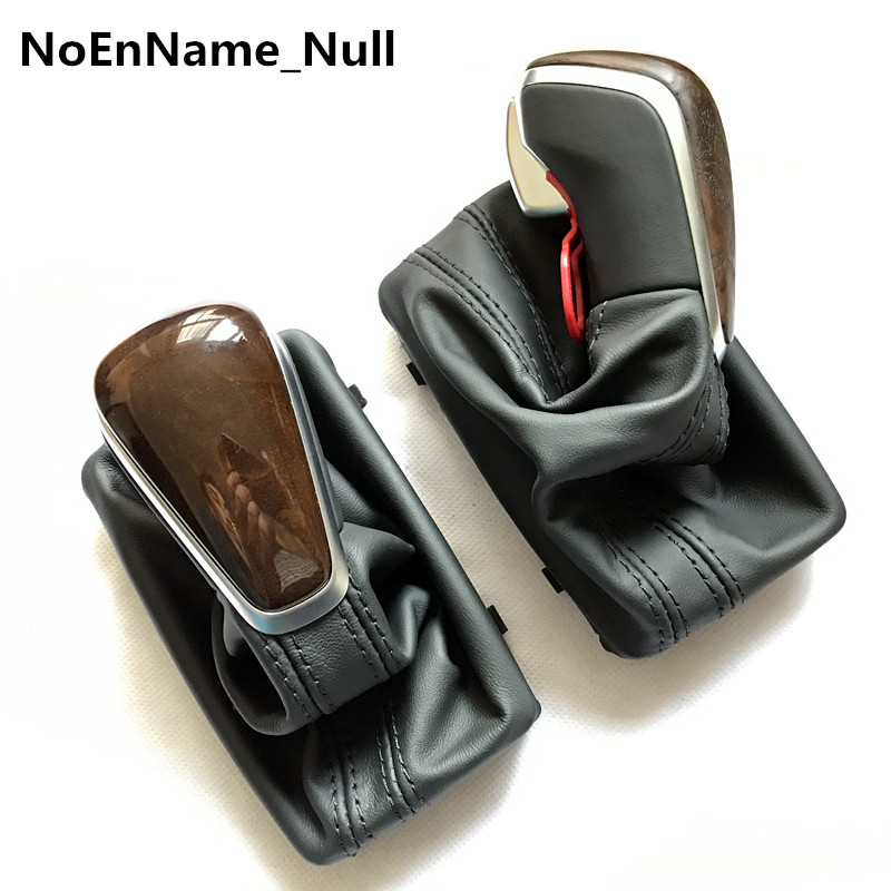 NoEnName_Null SHIFT KNOB FOR NEW A6 PA STYLE FOR Audi A4 A6 C7 A7 leather shift knob Skoda VW can be used new alternator for audi a4 a6 vw 1 8l passat 99 00 01 02 03 04 05 oem0124325017