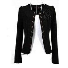 여성 블레이저 2018 플러스 사이즈 l ~ 4xl 5xl 아웃웨어 캐주얼 슬림 숏 레이디 블레이저 코트 브로치와 자켓 chaqueta mujer jaqueta