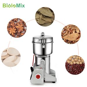Image 5 - 700g Swing Type Electric Grains Herbal Powder Miller Dry Food Grinder Machine high speed Intelligent Spices Cereals Crusher