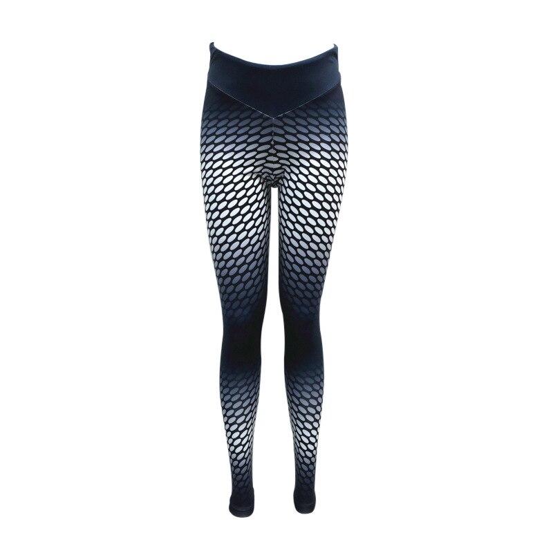 Focal20 Streetwear Women Fitness Fashion Leggings Printing High Waist Slim Workout Leggings Female Sporting Pants