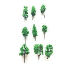 45pcs/lot architecture N scale model green tree in 6cm for ho train layout 30pcs lot 2018 colorful ho n oo architectural scale model abs plastic green trees 3 10cm model train landscape tree layout