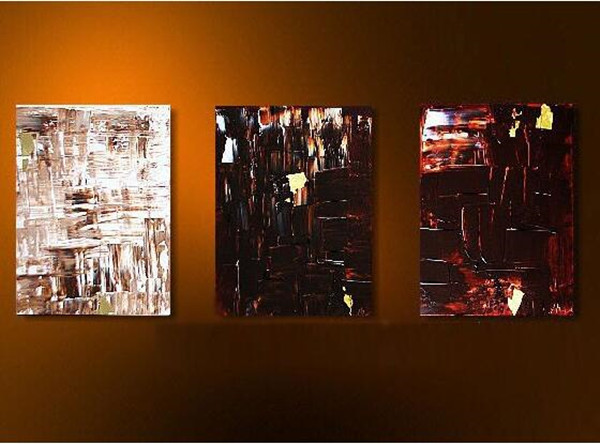 Online Buy Wholesale modern art paintings sale from China modern