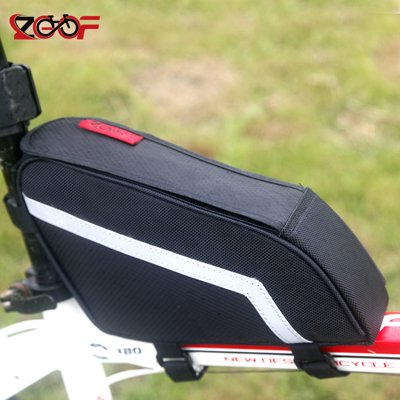 ZGOF New Bicycle Front and Rear Frame Tube Saddle Bag Bike Triangle Tubes Bags bisiklet aksesuar Waterproof Cycling Bag