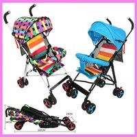 Four Season Portable Foldable Lightweight Baby Strollers Four Wheels Adjustable Travel System Baby Pushchair Buggy Pram 0~3Y