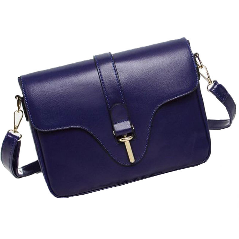 2017 New Brand designer women small messenger bag PU leather solid color shoulder bag fashion vintage girls evening party bag
