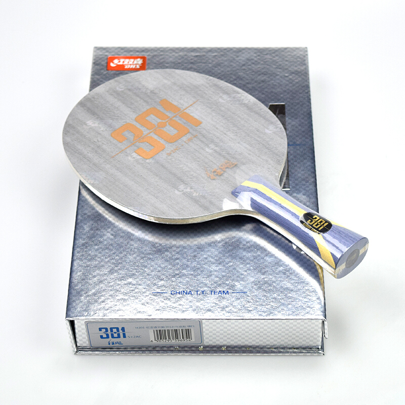 DHS table tennis racket hurricane h301 301 arylate carbon ALC China T.T Team for blade ping pong bat paddle