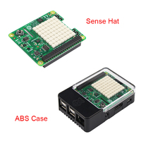 Official Raspberry Pi 3 Sense HAT with Orientation Pressure Humidity and Temperature Sensors Humidity Sensors ABS