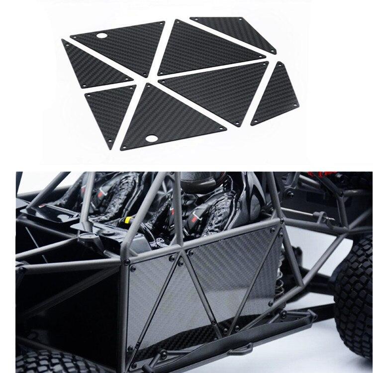 La Cage de rouleau de coquille de voiture de pièces de voiture de RC renforcent le panneau de Fiber de carbone pour 1/7 TRAXXAS UDR