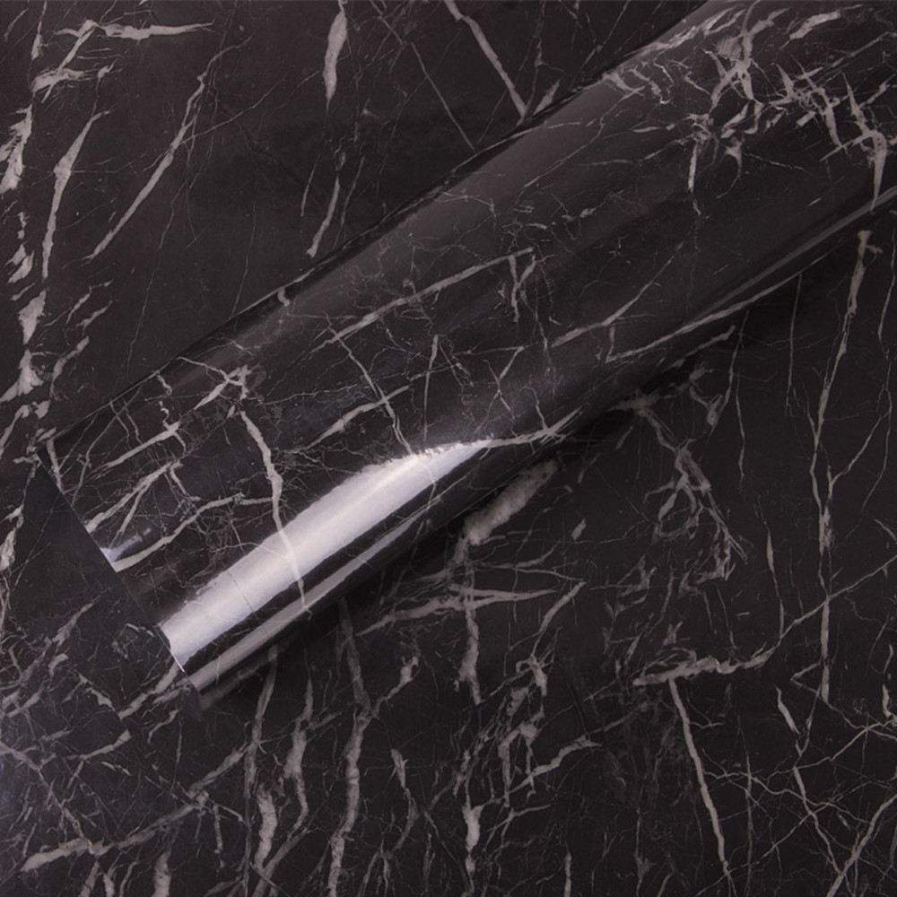 Most Inspiring Wallpaper Marble Black - Black-Marble-Waterproof-Vinyl-Self-adhesive-Wallpaper-Sticker-Modern-Contact-Paper-Kitchen-Countertop-Shelf-Drawer-Liner  Gallery_52448.jpg