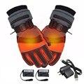 Новинка  зимние перчатки с USB  теплые  электрические  с аккумулятором  с подогревом  варежки  мотоциклетные  велосипедные  лыжные  походные пе...