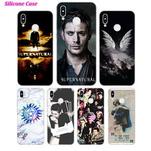 Silicone Phone Case Fashion Supernatural for Huawei P Smart 2019 Plus P30 P20 P10 P9 P8 Lite Mate 20 10 Pro Lite Nova 3i Cover купить недорого в Москве