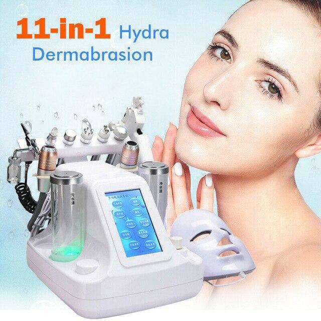 Hydra Dermabrasion 11 In 1 Bio-lifting Hydro Facial Machine Water Jet Diamond Peeling Microdermabrasion Machine Skin Care Device