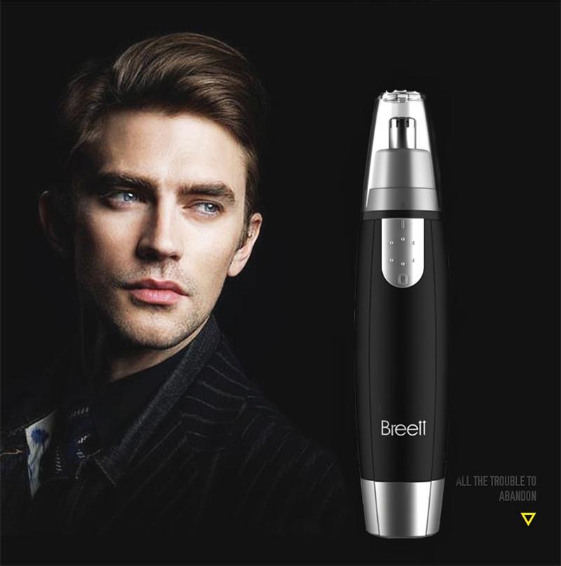 XPREEN Breett Fast Shaving Men <font><b>Electric</b></font> <font><b>Nose</b></font> <font><b>Ear</b></font> <font><b>Hair</b></font> <font><b>Trimmer</b></font> Painless Women Trimming Sideburns Eyebrows <font><b>Hair</b></font> Clipper Cut Shaver