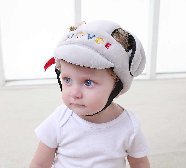 93149f3a752 New Brand Baby Children Infant Adjustable Safety Helmet Headguard  Protective Harnesses Cap Girl Boy Walking Head