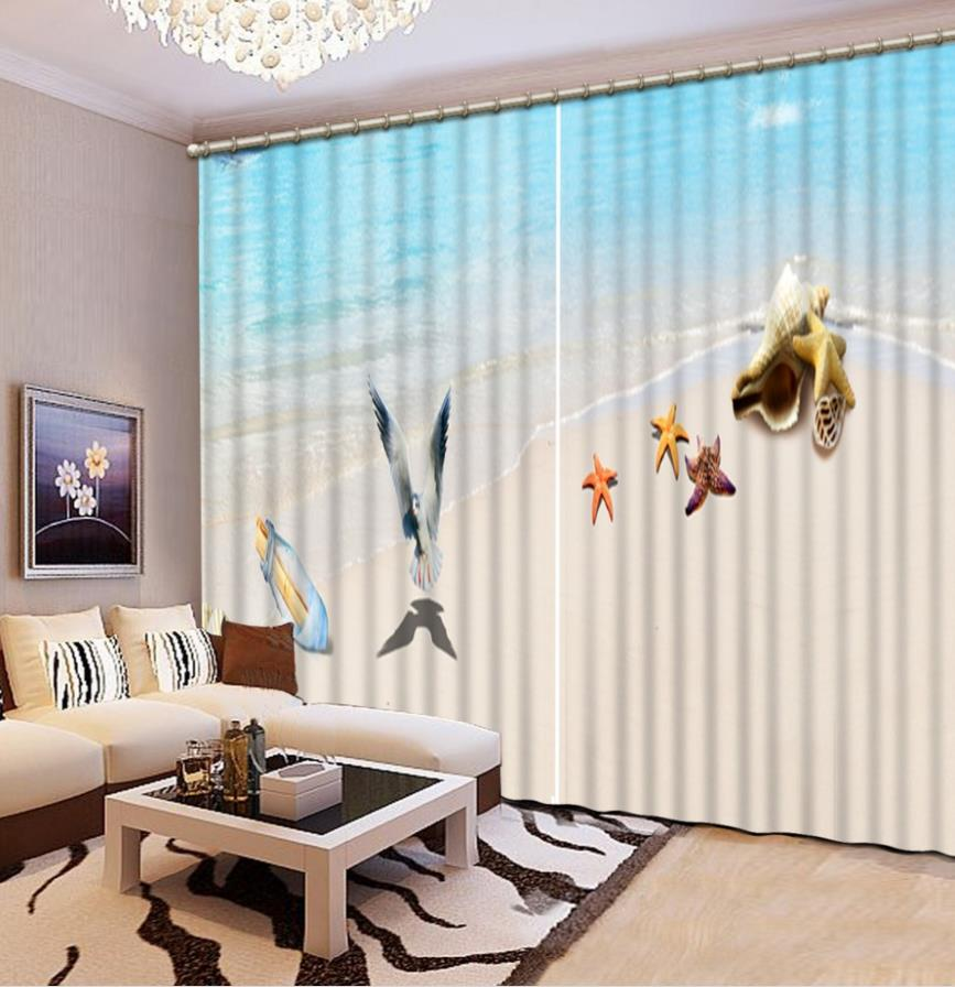 New ployester High precision Bedroom 3D Curtains Photo ... on Beautiful Bedroom Curtains  id=67529