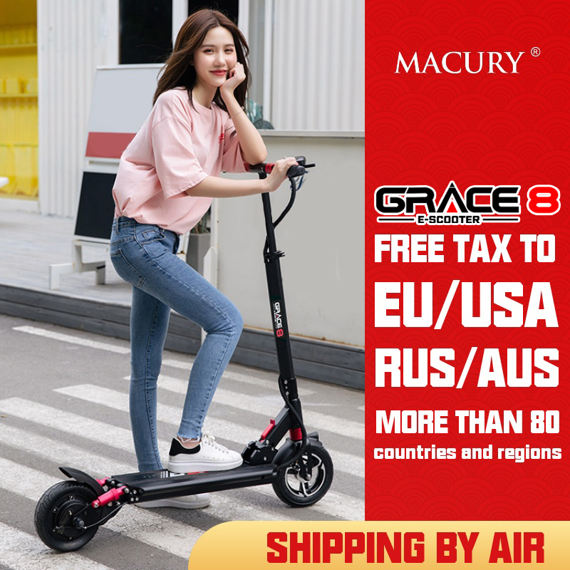 Macury Grace 8 Electric Scooter Hoverboard 2 Wheel 8 Inch 36V 350W 48V 52V 500W Adult Kid Zero 8 T8 Kick Scooter Mini Foldable