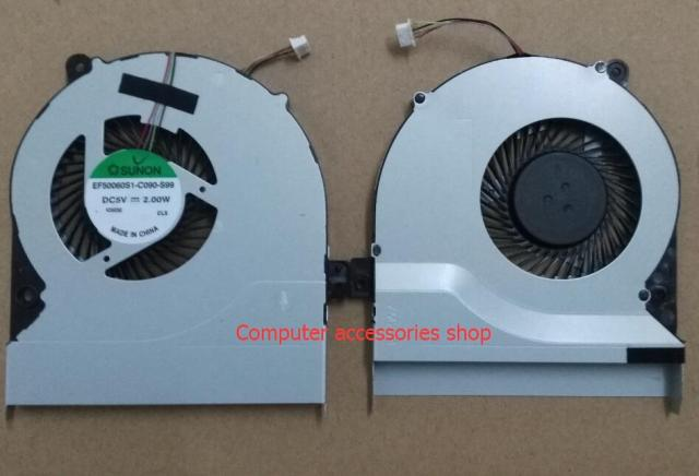 New Original CPU Cooling SUNON Fan For ASUS K46 K46C K46CM K46SL S46C S46 4PIN