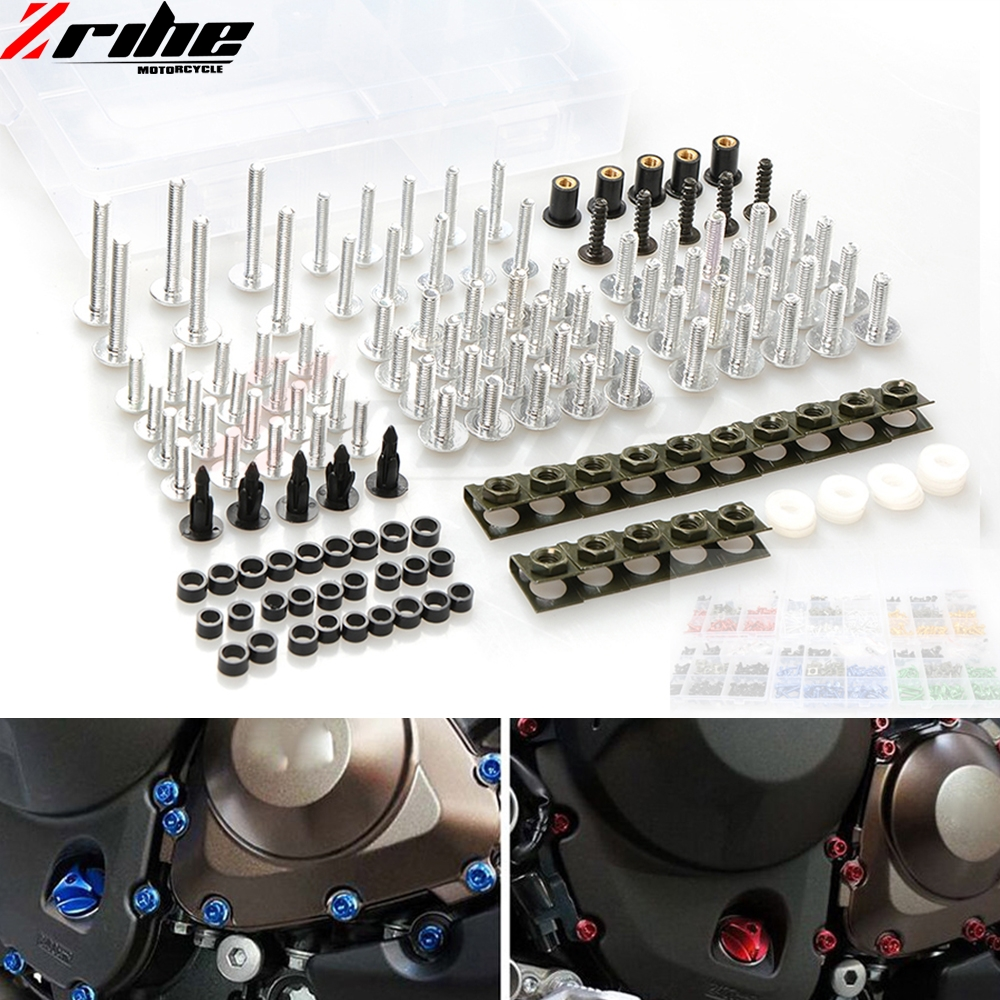 Aluminum Motorcycle accessories Fairing Bolt Screw Fastener Fixation Modified Universal For honda cb599 cb600 hornet cbr900rr цены