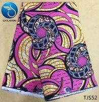 LIULANZHI Java tecido cera africano Atacado e varejo africano ancara tecido cera real tecido de Impressão de cera de algodão TJS48-TJS71