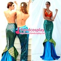 Русалочка юбка Ариэль рыбий хвост косплей костюм на заказ [G3713]