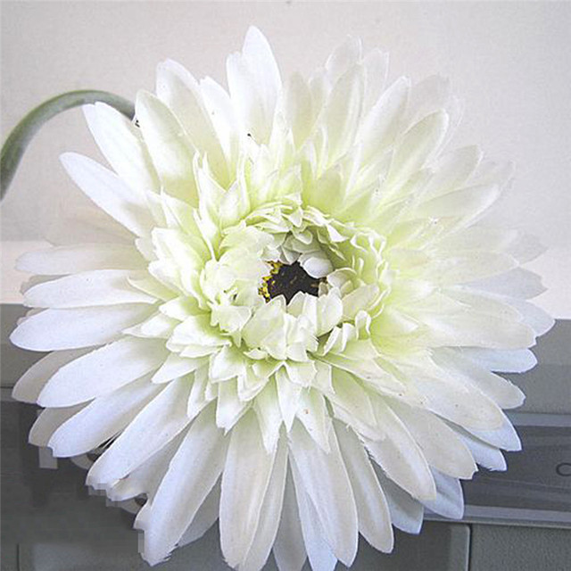 Online shop 6pcslot ivory white gerbera daisy artificial flowers 6pcslot ivory white gerbera daisy artificial flowers bouquet wedding silk flowers home festive decorative event party supplies mightylinksfo