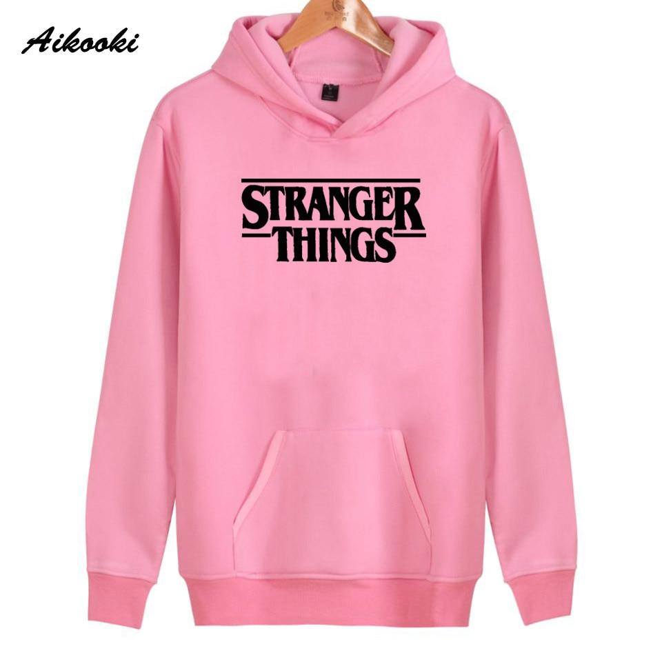 Hoodie Stranger Things Hoodies Sweatshirt women/men Casual Stranger Things Sweatshirts Women Hoodie Men's 16