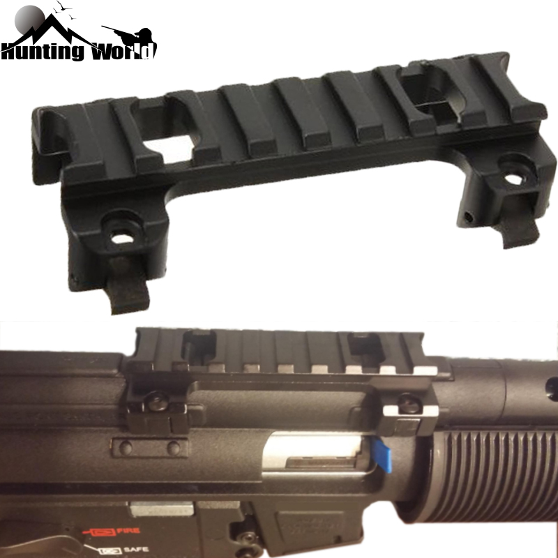 SINAIRSOFT Style MP5, MK5, HK, G3, GSG5 Claw Scope Mount For Hunting